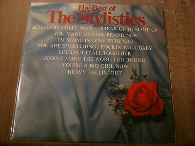 The Stylistics The Best Of The Stylistics LP Sealed 1985