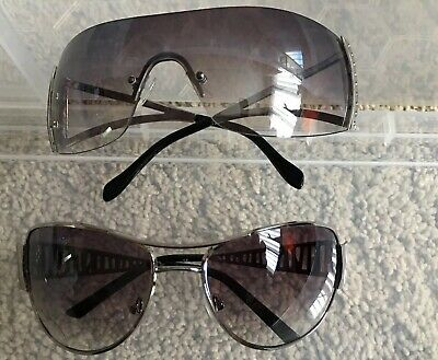 2 Pairs Tinted Womens Fashion Sunglasses Modern Style Summer Holidays New