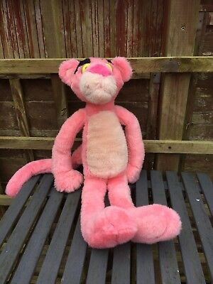"Large 25"" Tall PINK PANTHER Poseable Plush"