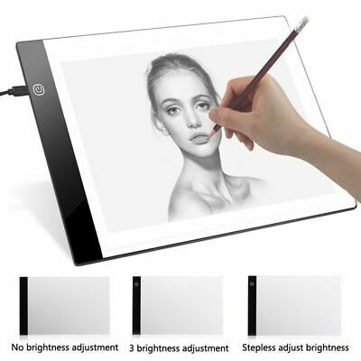 Thin Digital Drawing Graphic Tablet A4 LED Tracing Copy Board Painting Writing
