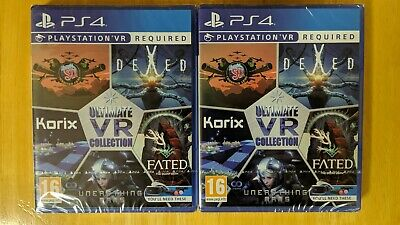 Ultimate VR Collection Playstation 4 PS4 PSVR New Sealed Import Unearthing Mars