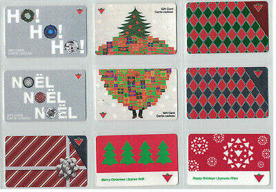 Canadian Tire Gift Cards - Assorted Gift Cards- All Different lot# ctc 1726