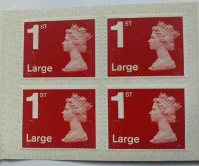 20 X 1st Class Royal Mail Self Adhesive Large Letter Postage Stamps - New