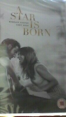 A Star is Born  [2018] (DVD) Bradley Cooper, Lady Gaga, Andrew Dice Clay MINT