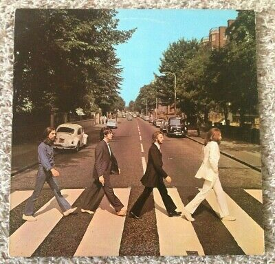 1969 THE BEATLES LP: ABBEY ROAD Apple Records SO-383