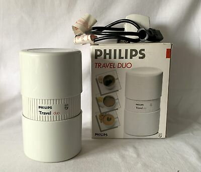 Boxed Working Philips Travel Duo Coffee Maker