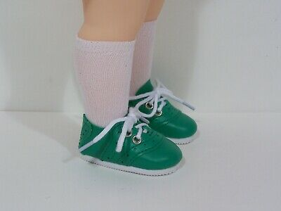 "Debs GREEN Doll Shoes For 16/"" Disney Animators Collection"