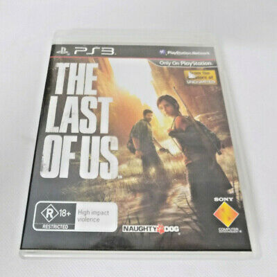 Mint Disc Playstation 3 Ps3 The Last of Us - Free & Fast Postage