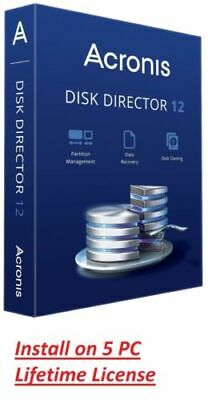 Acronis Disk Director 12 - Lifetime License - Instant Delivery