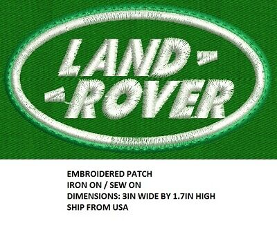**LOVE IT OR ITS FREE** LAND ROVER Embroidered patch, Iron on / Sew on, DYI, Fre