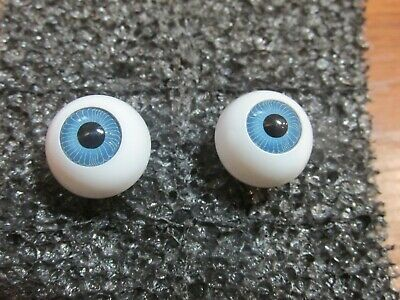 Acrylic Doll Eyes Round w/Stem Type Choice of Color & Size