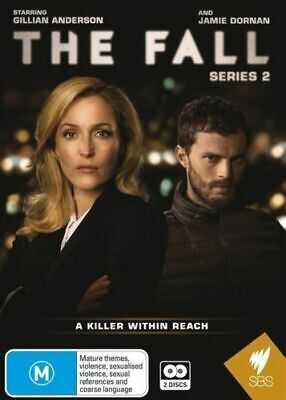 The Fall: Series Two [2 Dvd Set] Second Season, Gillian Anderson, Region 0
