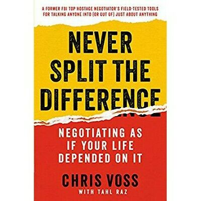 Never Split the Difference by Chris Voss PDF Download