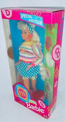 1994 POG Fun Special Edition Barbie Doll NRFB