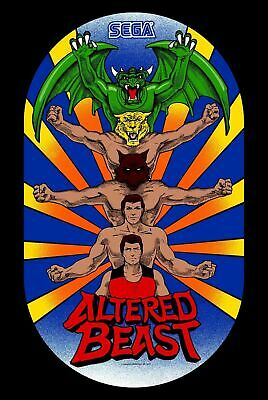 187796 Altered Beast (1988) Retro Game Arcade Mame Mega Wall Print Poster UK