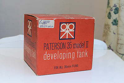 Paterson 35 Model II, 35mm Developing Tank, in Superb Condition, 1997