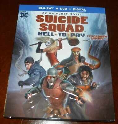 Suicide Squad: Hell to Pay (Blu-ray/DVD, 2018) NEW