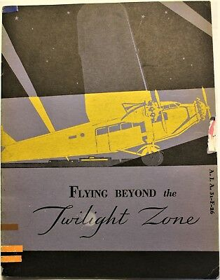 Vintage Booklet on Airport Lighting Systems Circa 1930's by Westinghouse!