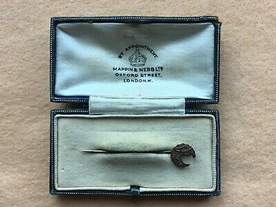 Mappin & Webb 9ct Gold Aesthetic Movement Tie Pin