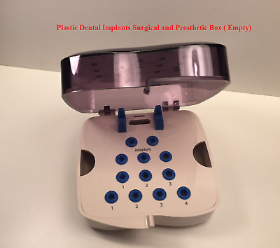 Autoclavable Surgical Plastic Box for Dental Implants and Prosthetic ( Empty)