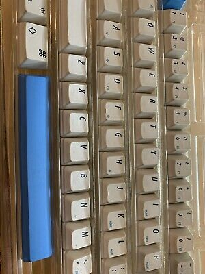 51c32690aa2 DYE-SUB GRAY AND Milky Japanese keycap for Electrostatic capacity ...