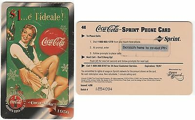 COCA COLA - PHONE CARD - UNUSED FOR COLLECTION -  Expire 1997