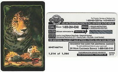 LION -   UNUSED FOR COLLECTION - Edition limited 1214 of 1500 - Expire 1997