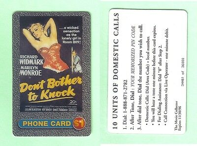PHONE CARD - MARILYN MONROE - EDITION LIMITED-34461 of 36000 -UNUSED BUT EXPIRED