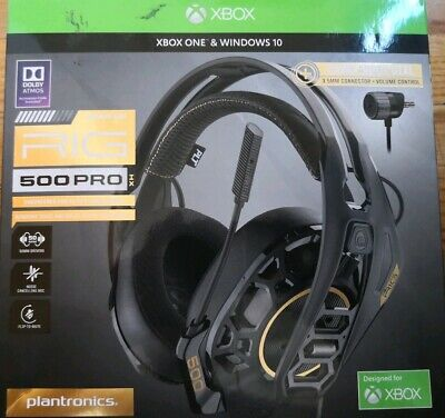 PLANTRONICS RIG 400LX Gaming Headset for XBOX One w/ Dolby Atmos