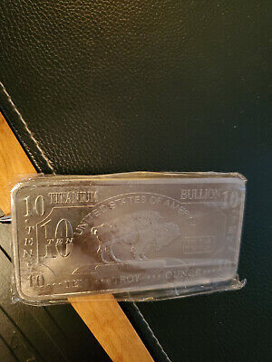 Bullion Buy Cheap .999 Titanium Ingot Bar Bullion 1 Pound Titanium Bar Titanium Ingot Billet Coins & Paper Money