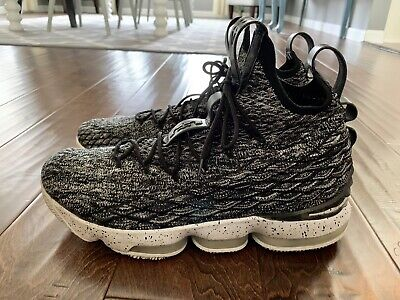 sports shoes 64560 7a696 MEN'S NIKE LEBRON XV 15 City Edition Shoes Size 11 Black Gray