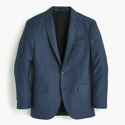 40R C3270 Jcrew Crosby suit jacket with double vent in Italian worsted wool