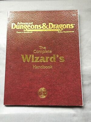 Complete Wizards Handbook DUNGEONS DRAGONS Rules Book D&D 95 Advanced Players
