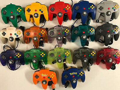 *GREAT* Nintendo 64 Controller AUTHENTIC ORIGINAL, CLEANED, TESTED, TIGHT STICK!