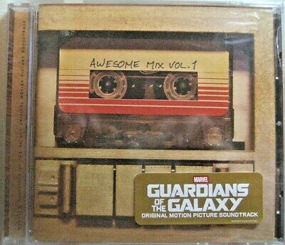Guardians Of The Galaxy Awesome Mix Vol. 1 Cd Various Artists,  New Unsealed