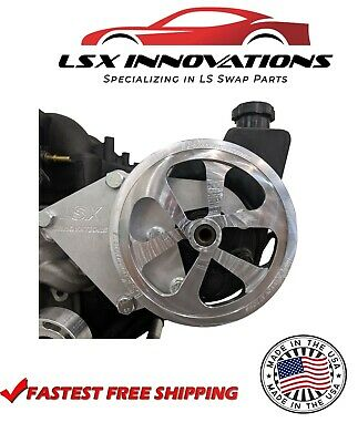 LS Vortec Truck Billet Power Steering Pulley LS Billet Power Steering Pulley