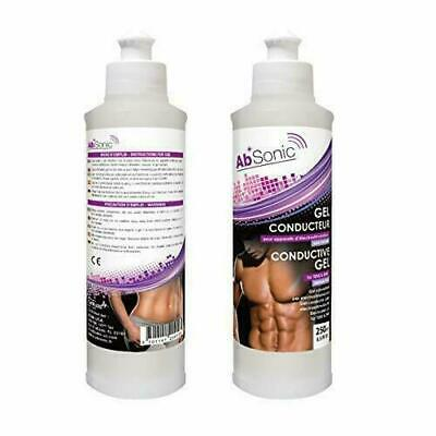 AbSonic - Conductive Gel for Abs Toning Belts, Muscle Stimulating Devices, Elect