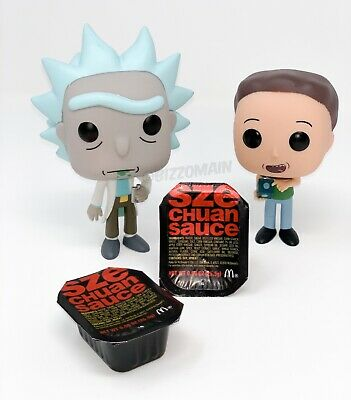 McDonald's Szechuan Sauce 2018 Rick And Morty 2 Pack (Jerry Meeseeks Wished)