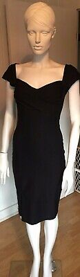 e6a3156cc95d Stop Staring Mad Style Fitted Dress, Black Sz M, 1950s dress, Free Ship
