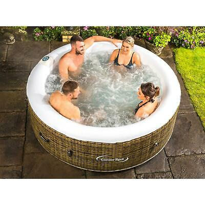 New Large Cleverspa Hot Tub Jacuzzi Pool Spa 4 Persons Outdoor Indoor Swimming