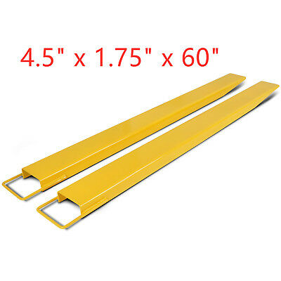 """60"""" x 4.5"""" Pallet Fork Extensions for forklifts lift truck new"""