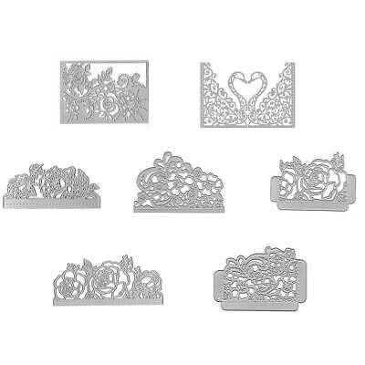 Rose Flower Metal Cutting Dies Stencil DIY Scrapbooking Paper Card Craft
