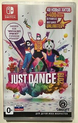 Just Dance 2019 (Nintendo Switch) Brand New LOW PRICE Factory Sealed
