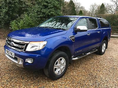 2013 Ford Ranger 2.2TDCi 150PS 4x4 auto Double Cab Limited - NO VAT