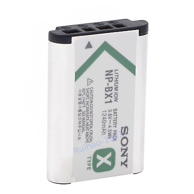 NEW Sony NP-BX1 Battery for Sony Cyber-Shot DSC-RX100 RX100 RX1 BX1