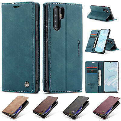 For Huawei P30 Pro P30 Case Luxury Magnetic Flip Leather Wallet Cover With Stand