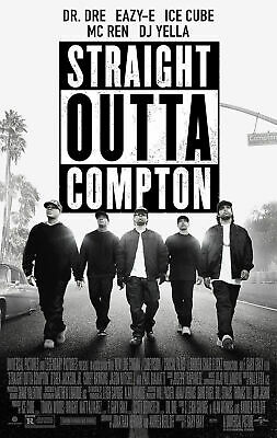 189488 Straight Outta Compton Ice Cube Dr. Dre Eazy-E Wall Print Poster AU