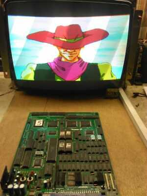 Sunset Riders KONAMI 1991 Jamma PCB Arcade Game WORKING TESTED 4 player ORIGINAL