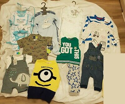 Wholesale Job Lot Baby Clothes - 0 - 9 Months - New With Tags