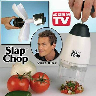 Garlic Triturator Food Chopper Slap Chop Fruit Vegetable Grater Kitchen
